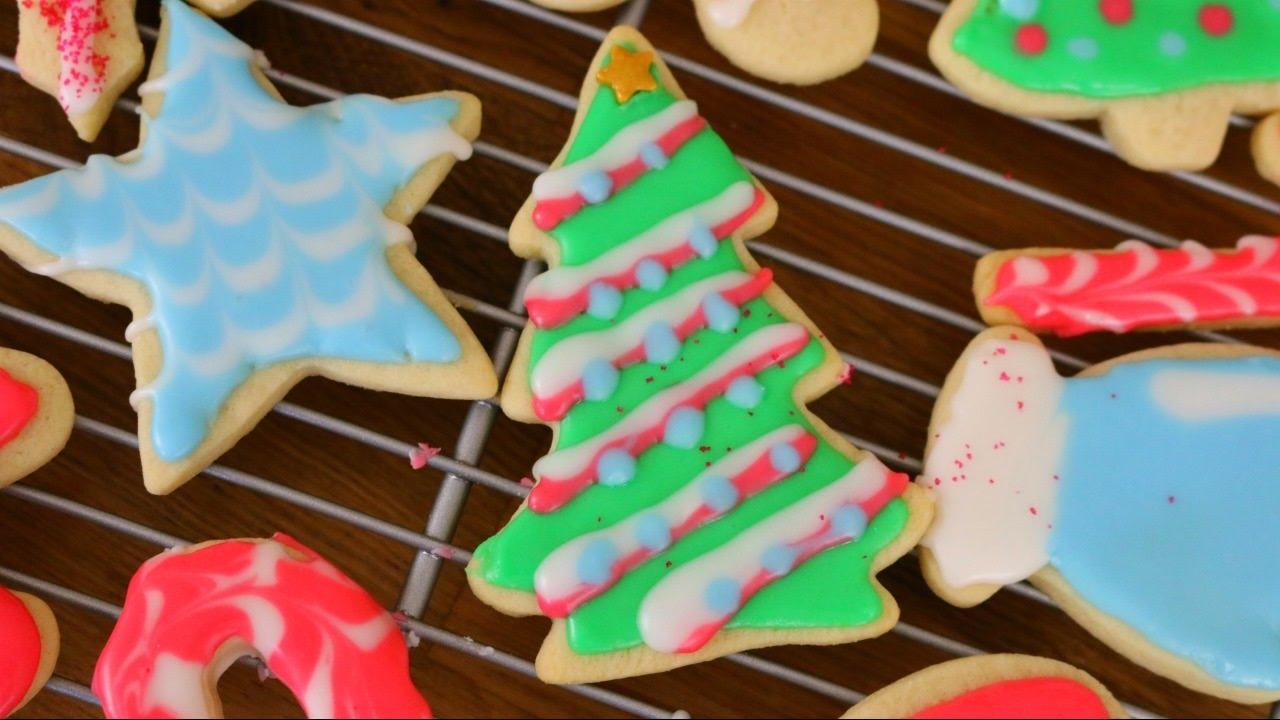 Decorating Christmas Sugar Cookies 12 Days Of Xmas Baking Sweetco0kiepie