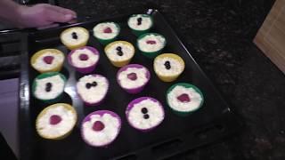 Ну очень вкусные кексы!!! Простой Рецепт вкусного творожного кекса в духовке.