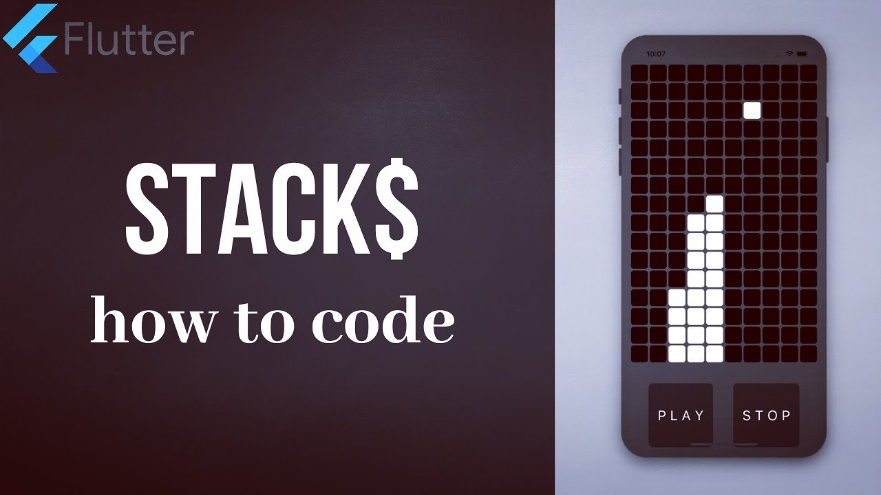 How to Code a Stacking Game using Flutter and Dart Programming