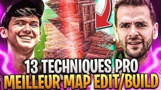 🔥LA VRAIE MEILLEURE MAP EDIT /BUILD SUR LES 13 TECHNIQUES PRO Dont BUGHA ! Double Ton Skill Fortnite