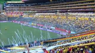 Sur Oscura - Soy del Barce Vs Liga de Loja 26/02/2012