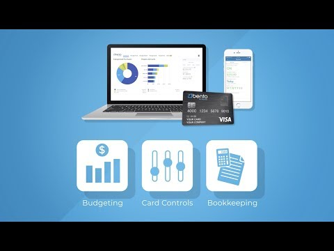 Bento for Business Visa® Debit Card | Best way to manage employee expenses