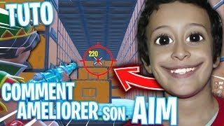 COMMENT AMÉLIORER SON AIM (SON SHOOT) CLAVIER SOURIS SUR FORTNITE BATTLE ROYALE !