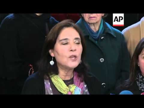HUMAN RIGHTS GROUP PROTESTS AGAINST CEREMONY TO HONOUR PINOCHET