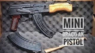 Mini Draco AK Pistol:  Unboxing & Review