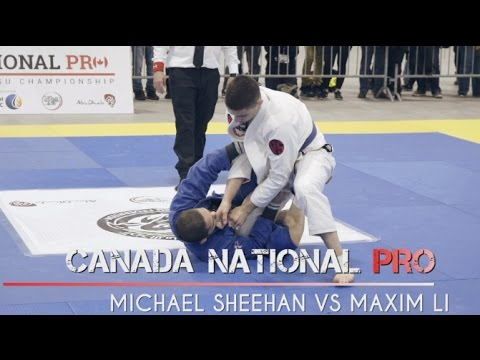 CANADA NATIONAL PRO OTTAWA - BJJ - MICHAEL SHEEHAN VS MAXIM LI