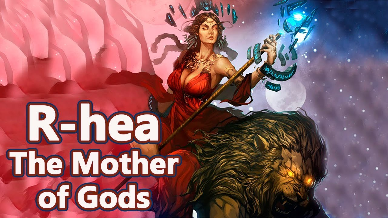 Rhea The Mother Of Gods Of The Olympus Mythology Dictionary 13 See U In History