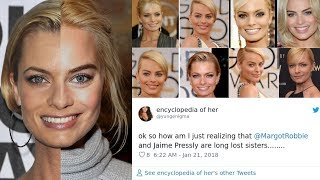 Are they TWINS Margot Robbie And Jaime Pressly Are So Similar