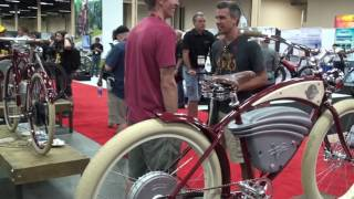Vintage Electric Bikes: Cruz, Tracker, Cafe, Tracker S, Scrambler | Electric Bike Report