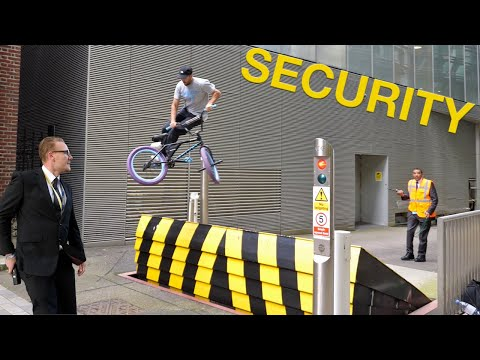 BMX Security Challenge in London