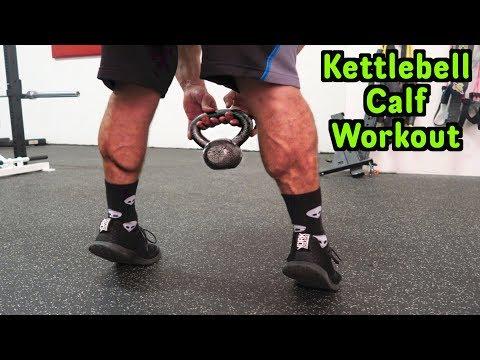 Intense 5 Minute Kettlebell Calf Workout
