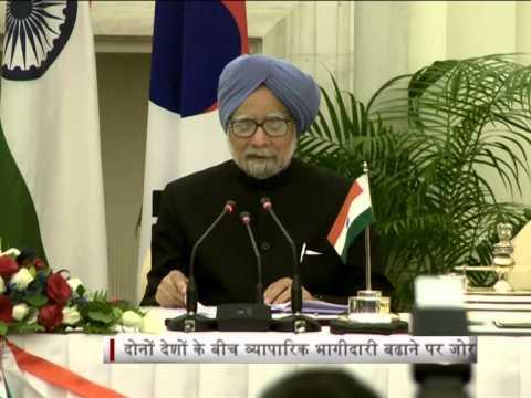 South Korean President in India