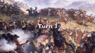 Playthrough - Waterloo: Napoleon's Last Battle - Turn 3