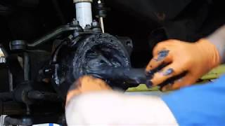 Toyota Steering Knuckle Reassembly