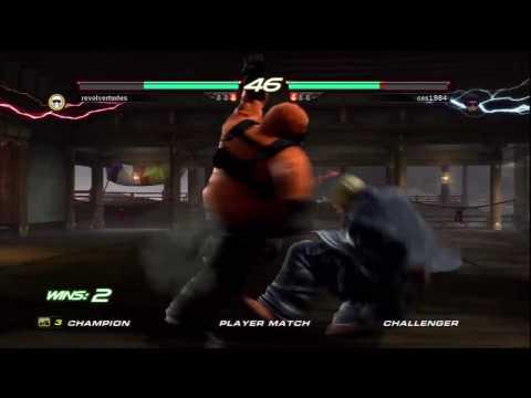 Tekken 6: Youtube Challenge: Ces1984 Vs Revolverturles P3
