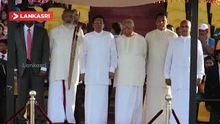 President Maithripala Sirisena, CM Vigneswaran, Sampanthan at 42nd National sports festival Day