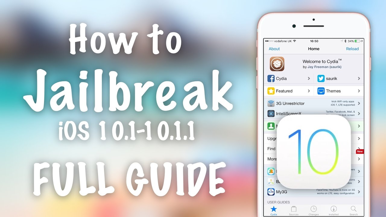 How to Jailbreak iOS 10 1 1 Semi-tethered & Fix Any Issues COMPLETE GUIDE