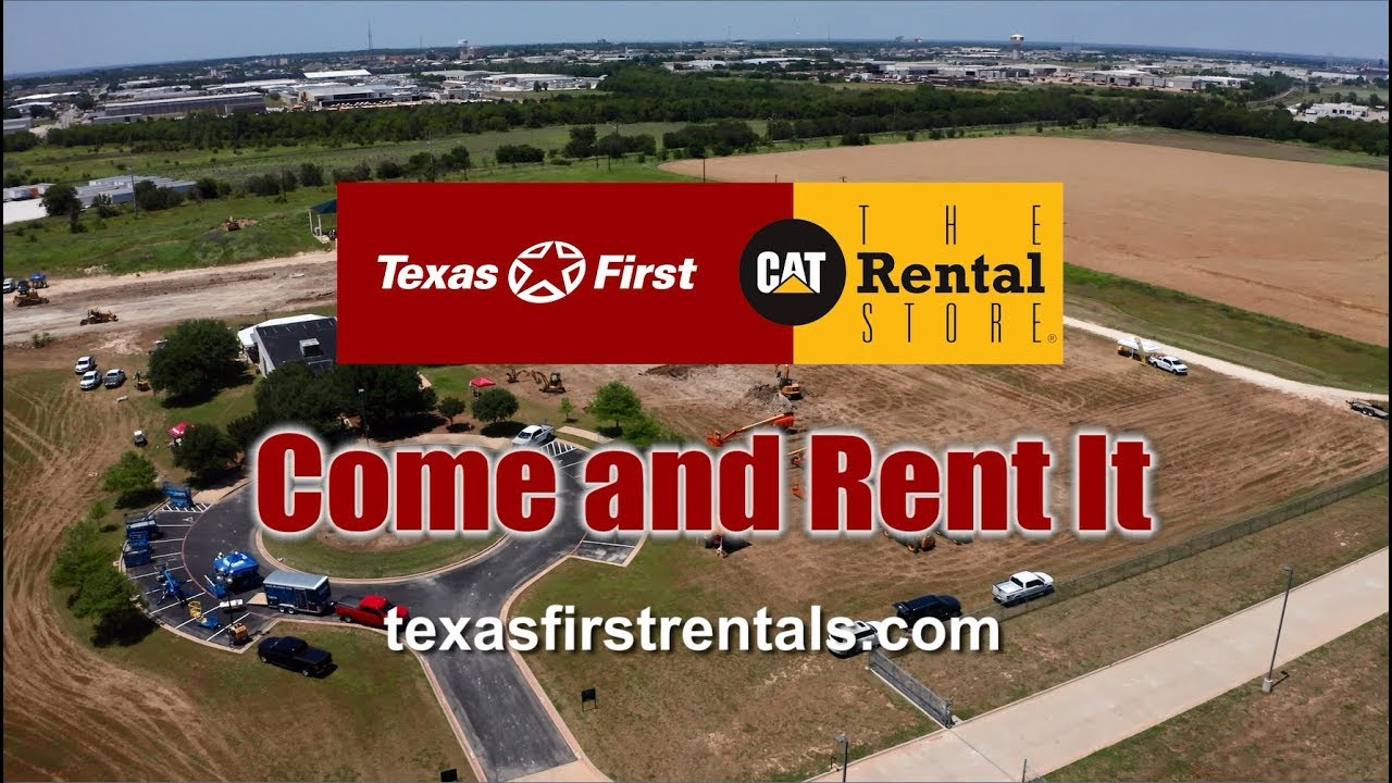 Texas Construction Equipment Rental Company: Caterpillar