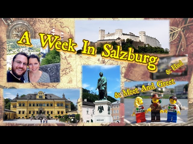 VLOG - Trip to Salzburg, Youtuber Meet and Greet and Lego
