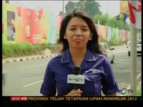 DIBUANG SAYANG 'REPORTER METRO TV' lucu ngakak abis