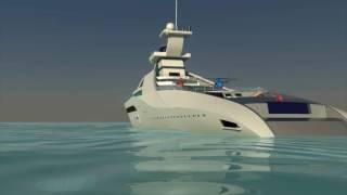 Yacht Zarabeth Mega Yacht Concept