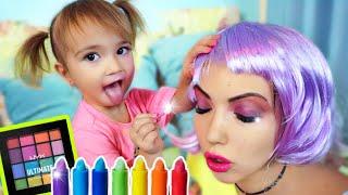 Ребенок испортил косметику мамы История про макияж для мамы Мия как бэби бон