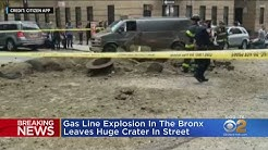 No Injuries In Bronx Gas Line Explosion