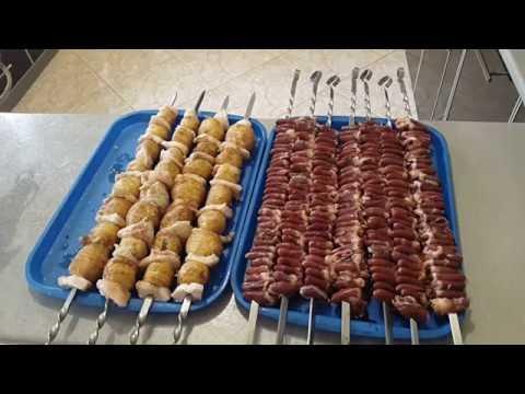 Горячие блюда, гарниры к шашлыку и блюдам на мангале от