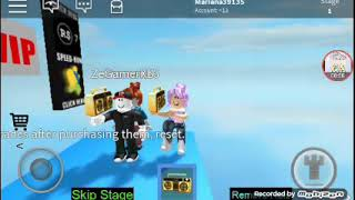 Playing Roblox with the guest (ZegamerXD)