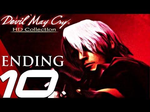 Devil May Cry HD - Gameplay Walkthrough Part 10 - Final Boss & Ending (Remaster) PS4/XB1/PC