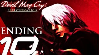 Devil May Cry HD - Gameplay Walkthrough Part 10 - Final Boss & Ending (Remaster) PS4/XB1/PC