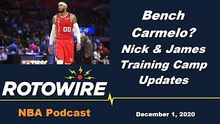 NBA Podcast - Training Camp News and Rankings Dilemmas