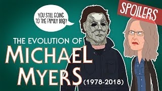 Evolution Of Michael Myers 1978-2018 (Animated)