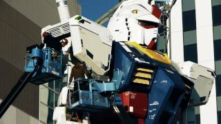 Repeat youtube video Life-size GUNDAM returned to Odaiba. The assembly process.