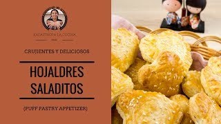 Hojaldres Saladitos (Volovanes)/ Puff Pastry Appetizer