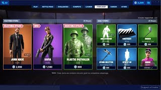 Peau de New-Sofia (Femme John Wick)! Fortnite Item Shop 28 juin 2019
