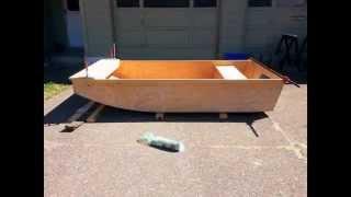Building The Caddy Wampus (jon Boat Build)