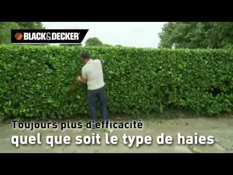 Taille-haies Black et Decker - YouTube