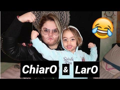 La prima volta che Laro si fa vedere con Chiaro !