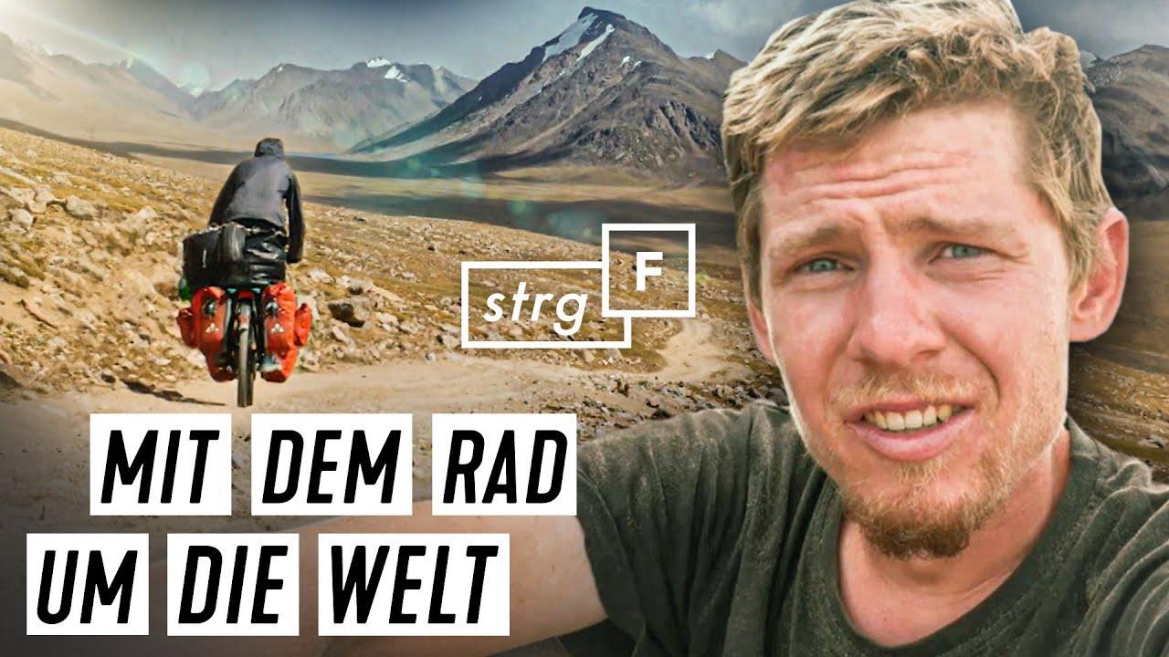 Download Fahrrad-Weltreise: Was erlebt Ferry auf 27.000 Kilometern? | STRG_F