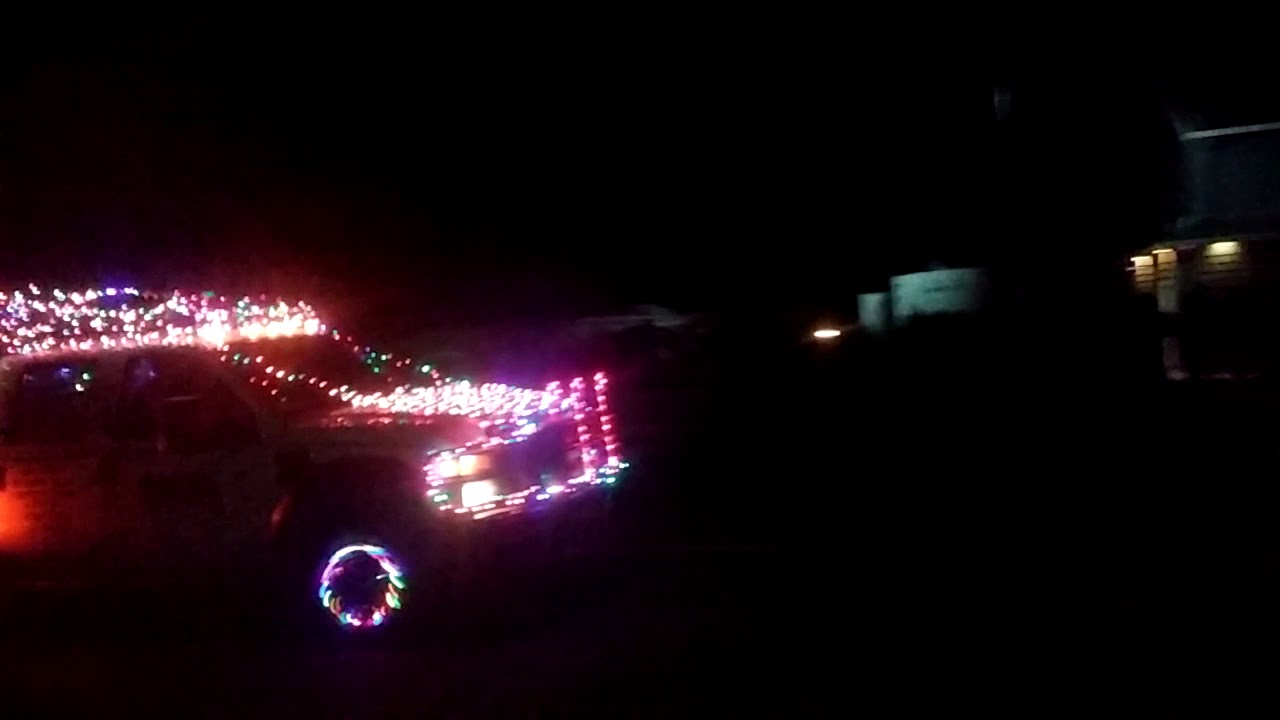 Redneck Christmas Lights.Redneck Christmas Lights Show
