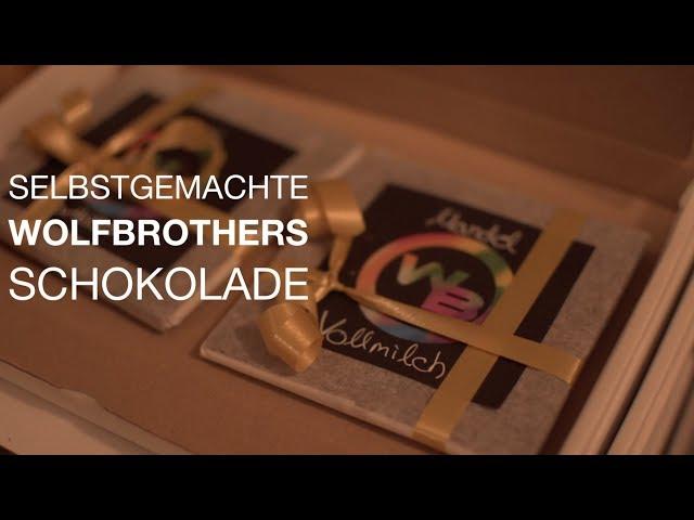 Selbstgemachte WOLFBROTHERS SCHOKOLADE | Weihnachten 2018