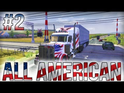 All American - Part #2 - Euro Truck Simulator 2 (Research Pr