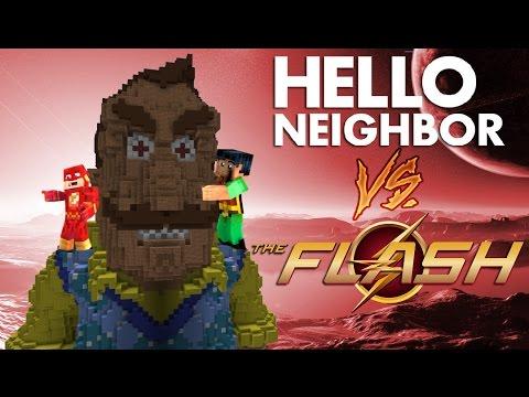 Minecraft Hello Neighbor - The Flash Steals FNAF Giga (Minecraft Roleplay) )