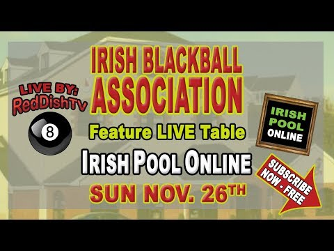 Irish Blackball Association, Tour Event 1, Live feature Table from Wexford