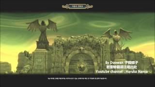 【Dragon nest KR】17.12.14 어둠의 연회장 Dark Banquet Hall  Barbarian Solo 【狂戰士視角】