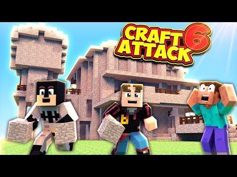 DEREN ERNST?! MEIN HAUS IST EIN STEIN?! - CraftAttack 6 #40