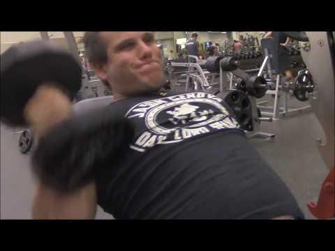 Jason Genova and Big Brad Wolf working out