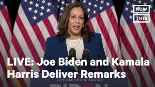 Joe Biden and Kamala Harris Speak as Democratic Ticket | LIVE | NowThis
