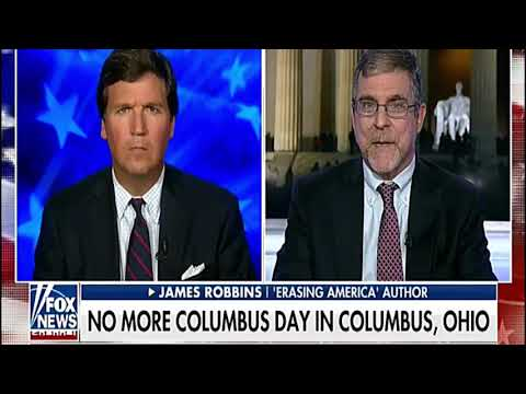 Tucker Carlson - Columbus Ohio Disavows Christopher Columbus